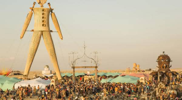 Burning Man Festival entre as festas mais populares do mundo