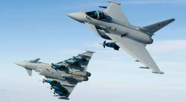 Eurofighter Typhoon  entre os caças mais caros do mundo