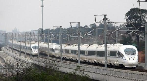 Guangzhou-Urumqi entre as rotas de trens mais longas do mundo