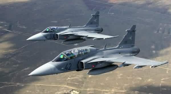 JAS 39 Gripen entre os caças mais caros do mundo