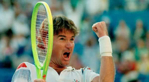 Jimmy Connors entre os melhores tenistas de todos os tempos