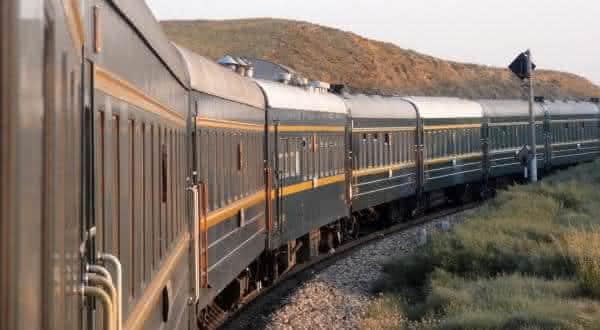 Moscow-Beijing via bator entre as viagens de trens mais longas do mundo