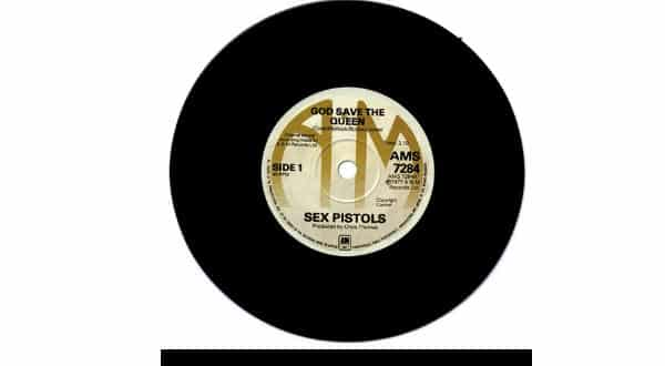 Sex Pistols entre os discos de vinil mais valiosos de todos os tempos