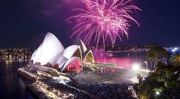 ano novo baia de sydney entre as festas mais populares do mundo