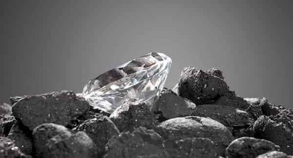diamantes vieram do carvao entre os mitos derrubados pela ciencia