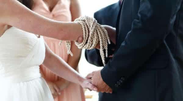 dar no entre os fatos interessantes sobre o casamento