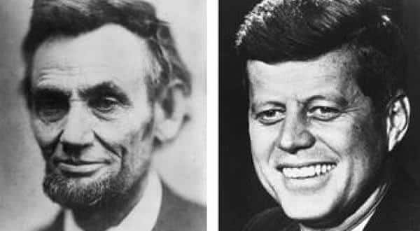 Lincoln e Kennedy entre as mais chocantes coincidencias sem explicacao