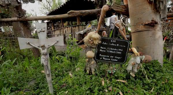 ilha das bonecas entre os lugares mais assustadores do mundo