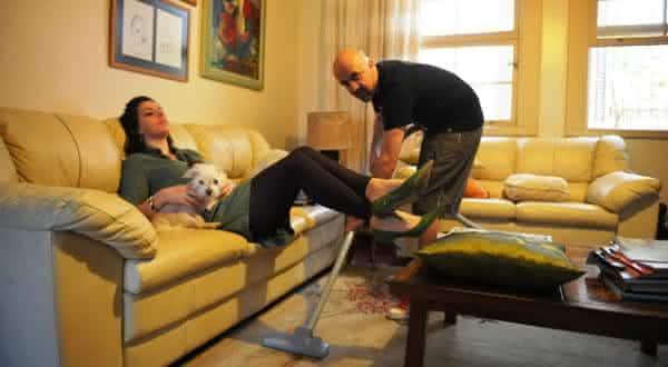 marido mania de limpeza entre as razoes estupidas para pedir divorcio