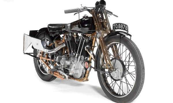 1929 Brough Superior SS100 entre as motos mais caras ja vendidas em leilao