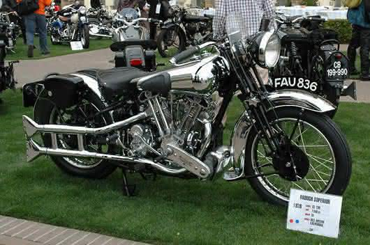 1939 Brough Superior SS100 entre as motos mais caras ja vendidas em leilao
