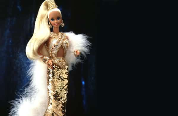 Bob Mackie Gold Barbie entre as bonecas Barbie mais caras do mundo