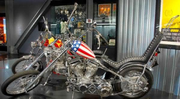 Captain America Harley-Davidson entre as motos mais caras ja vendidas em leilao