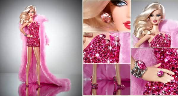Pink Diamond Barbie entre as bonecas Barbie mais caras do mundo