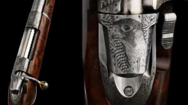 VO Vapen Falcon Edition entre as armas de fogo mais caras do mundo