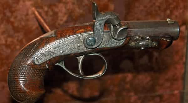 arma que matou lincoln entre as armas de fogo mais caras do mundo