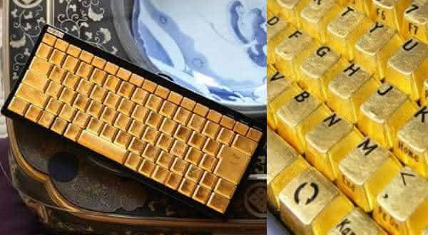 Kirameki Pure Gold entre os teclados de computador mais caros do mundo