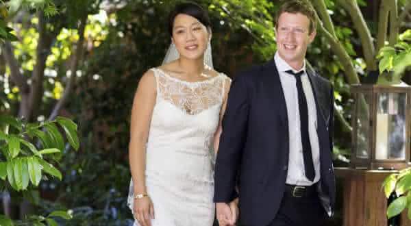 Mark Zuckerberg Priscilla Chan entre os casais mais ricos do mundo