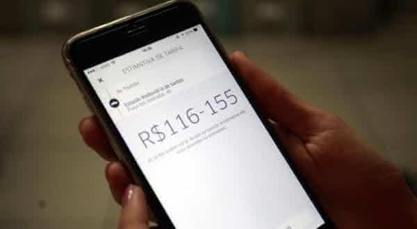conveniente entre as razoes para usar Uber em vez de taxi