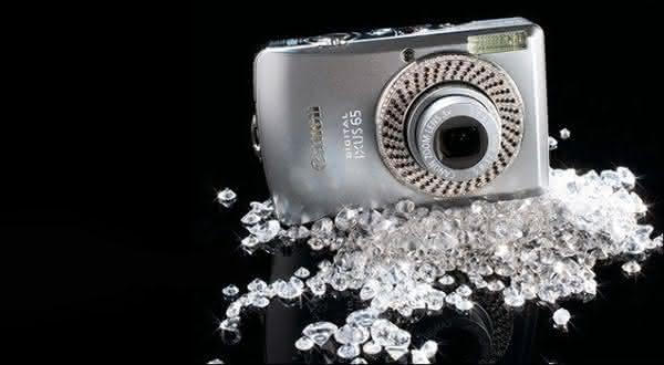 Canon Diamond Ixus entre as cameras digitais mais caras do mundo