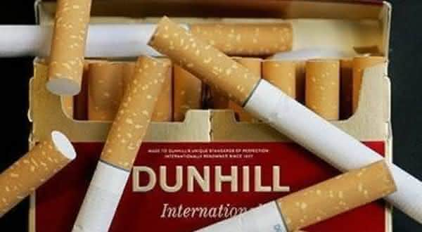 Dunhill entre as marcas de cigarro mais caras do mundo