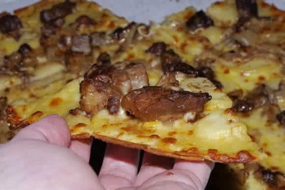 Kobe Beef Steak Pizza pizzas mais caras do mundo