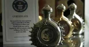 Top 10 tequilas mais caras do mundo