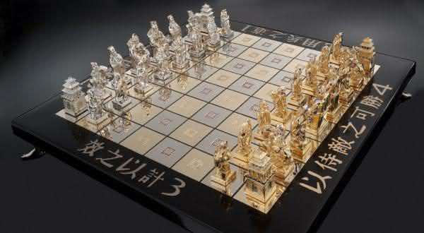 Art of War jogos de xadrez mais caros do mundo