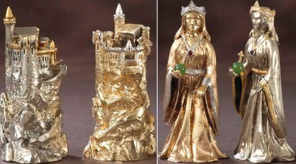 Carolingi XIV jogos de xadrez mais caros do mundo