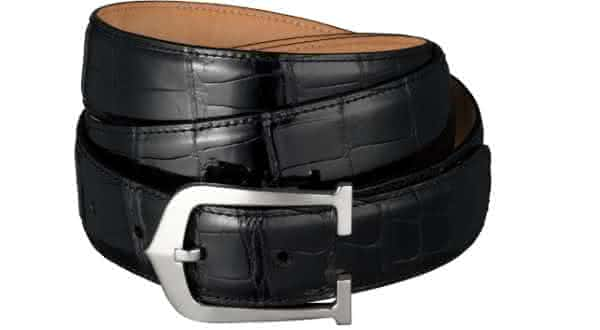 Cartier Crocodile Leather and Palladium entre os cintos mais caros do mundo