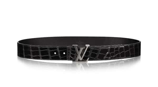 Louis Vuitton 40MM Crocodile entre os cintos mais caros do mundo