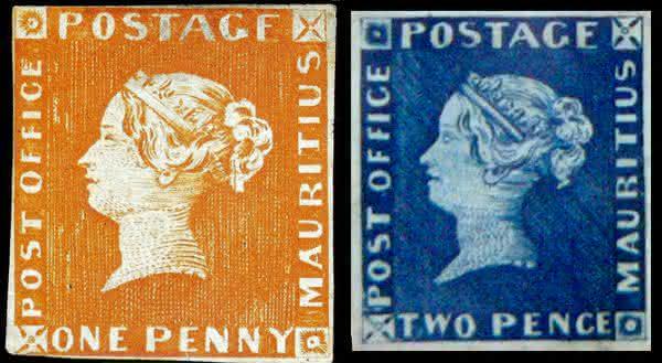 Mauritius Post Office  entre os selos mais raros do mundo