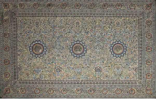 Pearl Carpet of Baroda tapetes mais caros do mundo