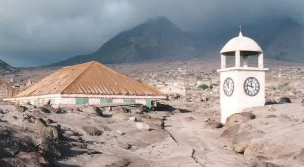Plymouth Montserrat entre as cidades fantasmas ao redor do mundo