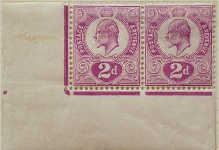 Tyrian Plum is Red entre os selos mais raros do mundo