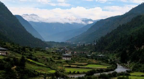 butao entre os paises com maior media de altitude do mundo