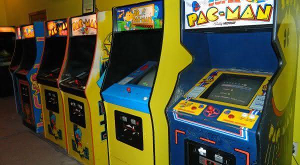 pac-man entre os jogos de fliperama mais populares de todos os tempos