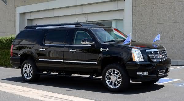 Cadillac Escalade ESV entre os carros blindados mais caros do mundo