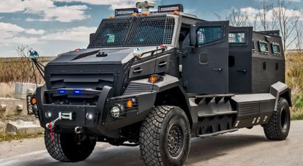 Huron APC entre os veículos blindados mais caros do mundo