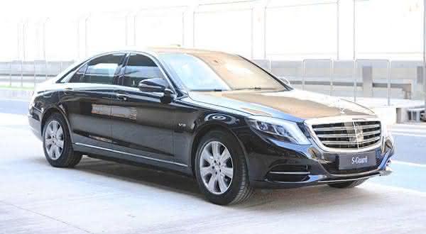 Mercedes-Benz S-Guard entre os carros blindados mais caros do mundo