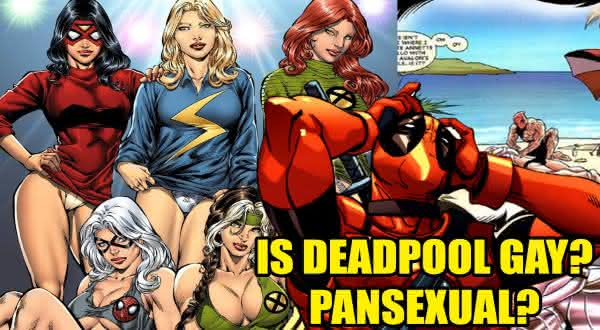 pansexual entre os fatos incriveis sobre Deadpool
