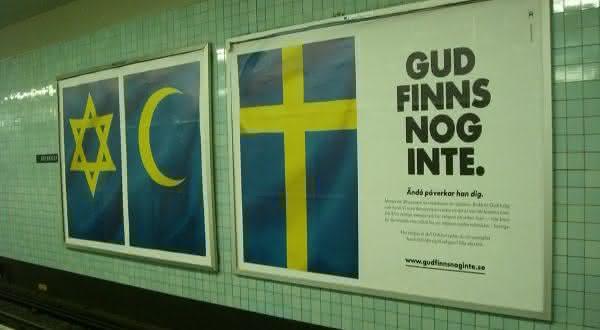 suecia entre os paises com maior populacao de ateus do mundo