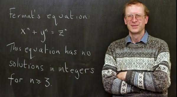 Andrew Wiles entre os maiores matematicos de todos os tempos