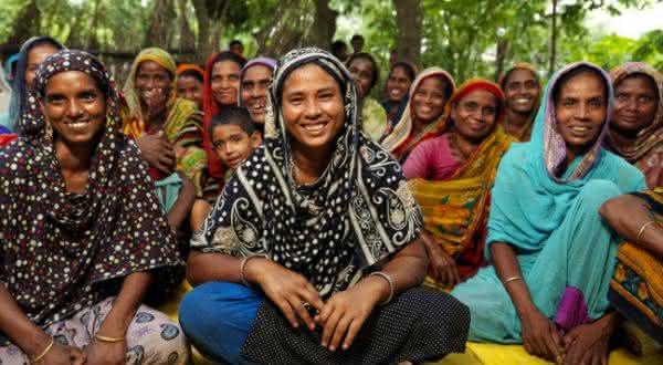 Bangladesh entre os paises com maior populacao feminina