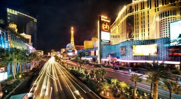 Las Vegas Strip entre as ruas mais famosas do mundo