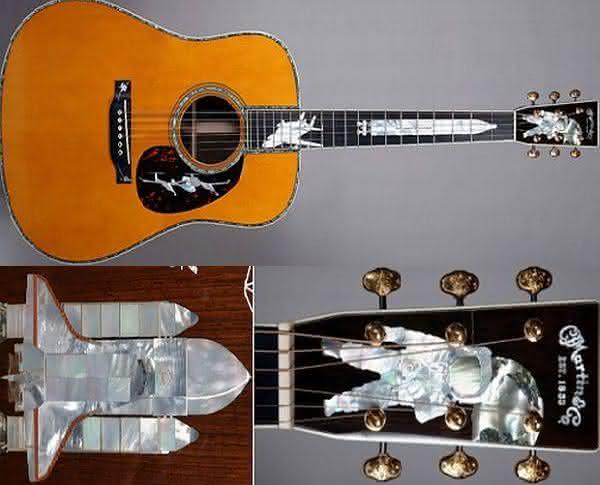 Martins History of Flight custom inlaid guitar entre os violoes mais caros do mundo