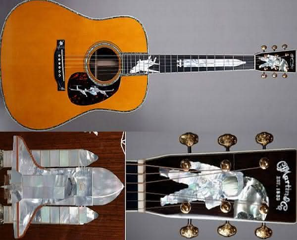 Martins History of Flight custom inlaid guitar entre os violoes mais caros do mundo