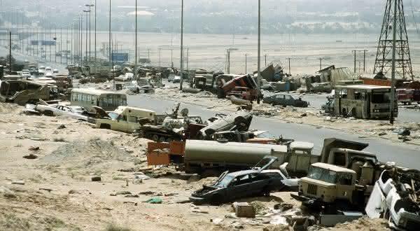 iraque paises com maiores indices de acidentes de transito