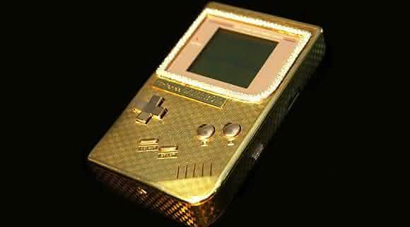 18K Gold Game Boy entre os brinquedos mais caros do mundo