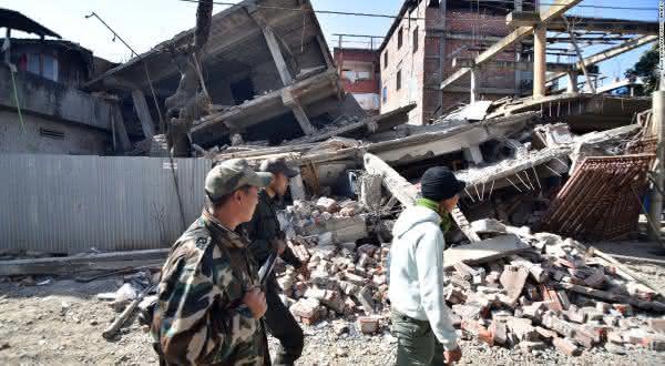 India entre os paises mais propensos a terremotos